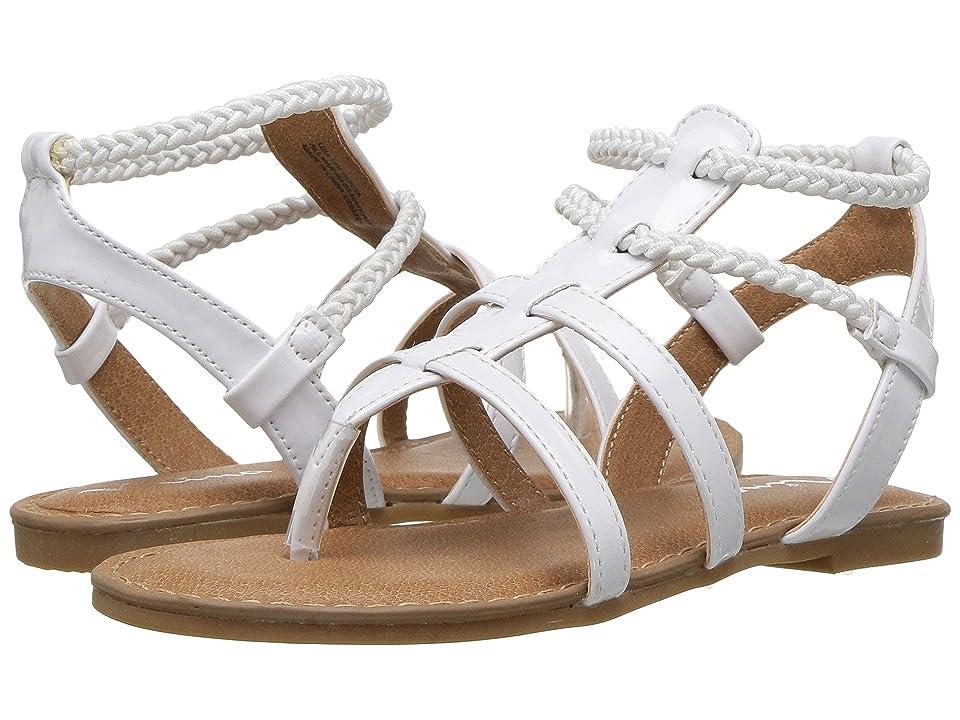 Nina Kids Margaree (Toddler/Little Kid/Big Kid) (White Patent) Girls Shoes