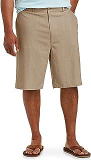 "Amazon Essentials Men's Big & Tall Linen Blend 11"" Short fit by DXL"