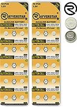 Rayverstar LR41 AG3 1.5 Volt Alkaline, 20 Batteries Fits: 392, 192, SR41, 384, 736, L736F (Full List Below)