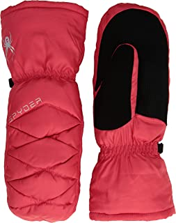 Spyder Women's Candy Down Mitten, Hibiscus/Black/Black, Medium