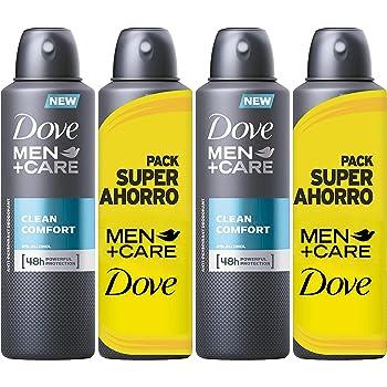 Dove Men Pack Ahorro Desodorante Clean Comfort - 2 packs de 2 x ...