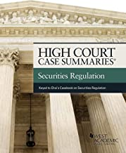 High Court Case Summaries on Securities Regulation (Keyed to Choi and Pritchard)
