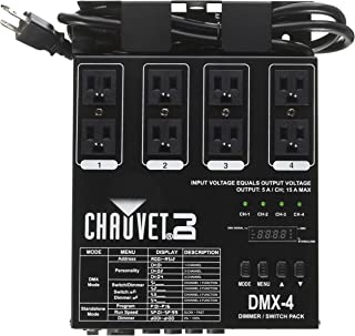 CHAUVET DJ DMX-4 LED Lighting Dimmer/Relay Pack | Lighting Accessories