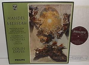 Handel Messiah Heather Harper Helen Watts John Wakefield John Shirley-quirk London Symphony Orchestra and Choir Colin Davis