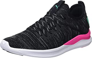 Puma Women's Ignite Flash Evoknit Wn s Black-KNO Running Shoes