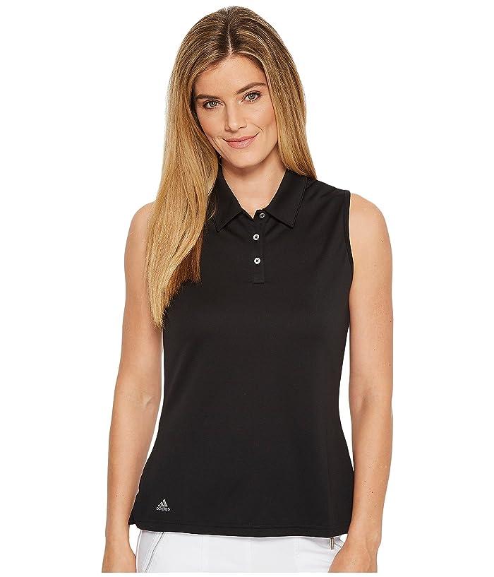 a6773ba74726b adidas Golf Performance Sleeveless Polo   Zappos.com