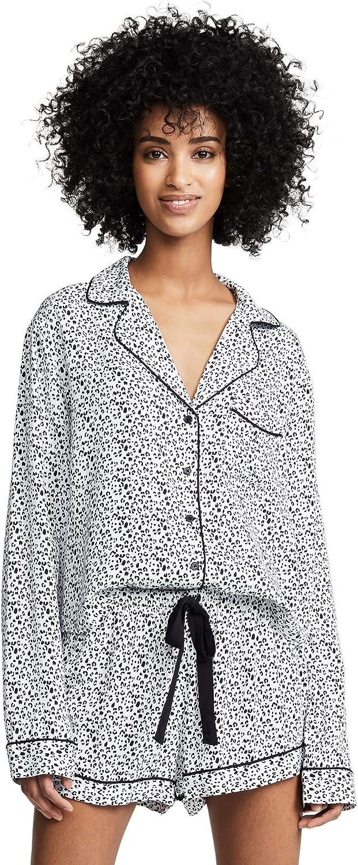 Rails Women's Mini Cheetah Short Pyjama Set Cheetah