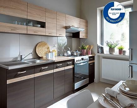 Küche 240cm Von FIWODO®   ERWEITERBAR   Günstig + Schnell   Einbauküche  Junona Line Set