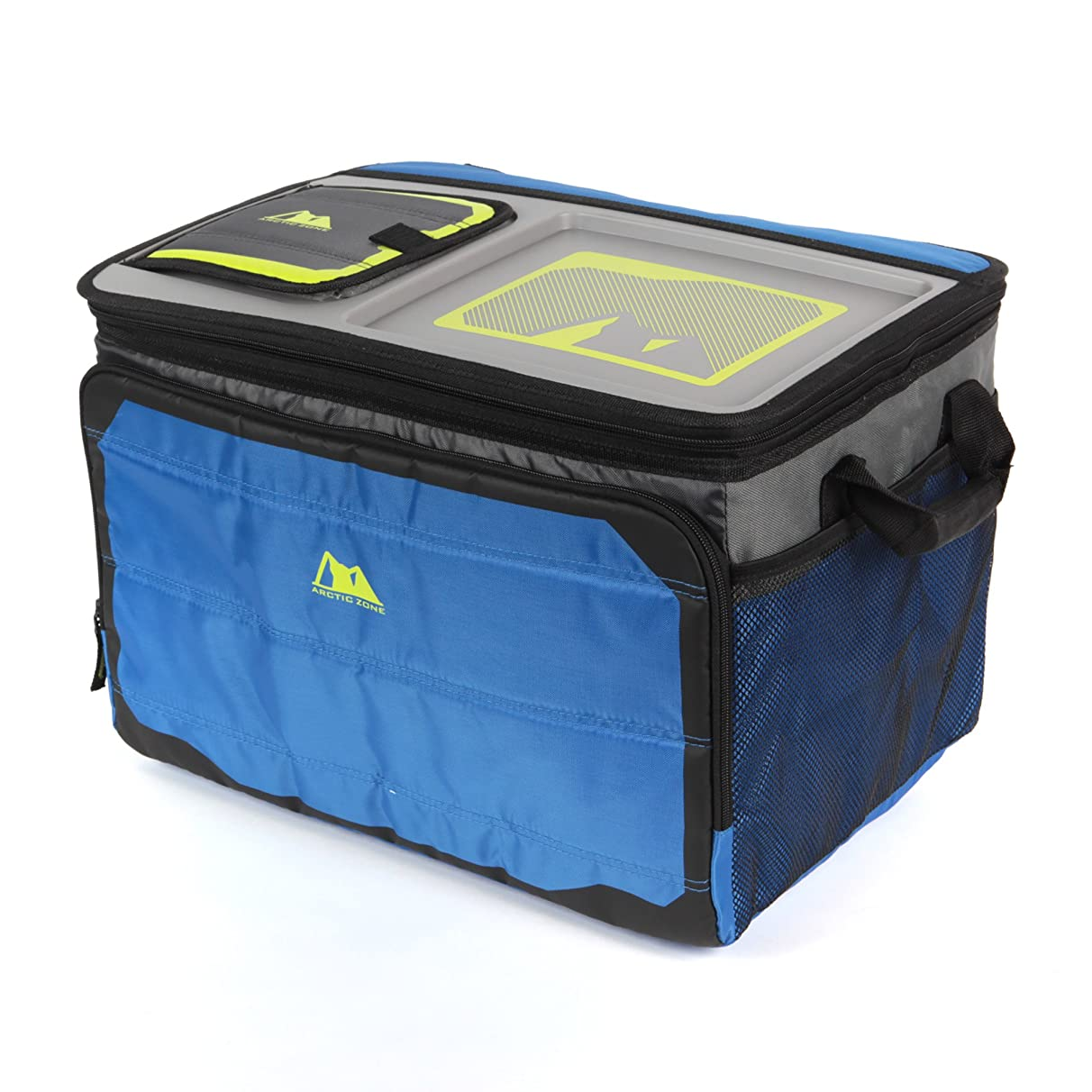 Arctic Zone Tabletop Soft Collapsible Cooler (50 Can), Blue