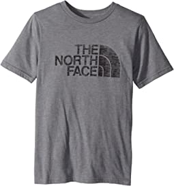 The North Face Kids - Short Sleeve Tri-Blend Tee (Little Kids/Big Kids)