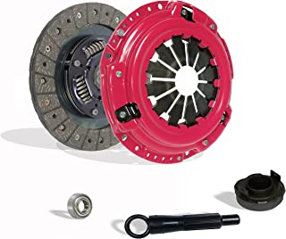 Clutch Kit Works With Honda Civic Crx Base Cx Dx Ex Lx Si Hf 1990-1991 1.6L L4 1.5L l4 GAS SOHC Naturally Aspirated (D15; D16; all model with ZC motor w/cable tranny; Stage 1; Except 4Wd Wagon)