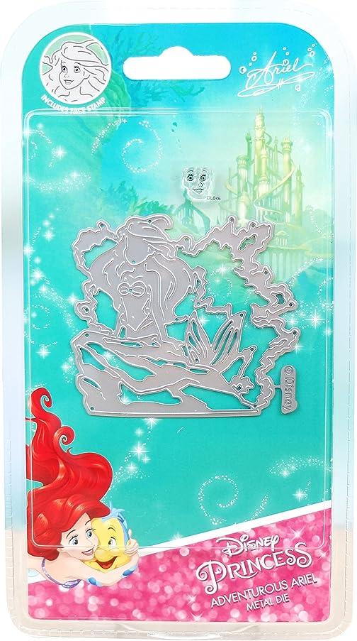 Character World Limited DUS0614 Adventurous Ariel Die Set, Silver