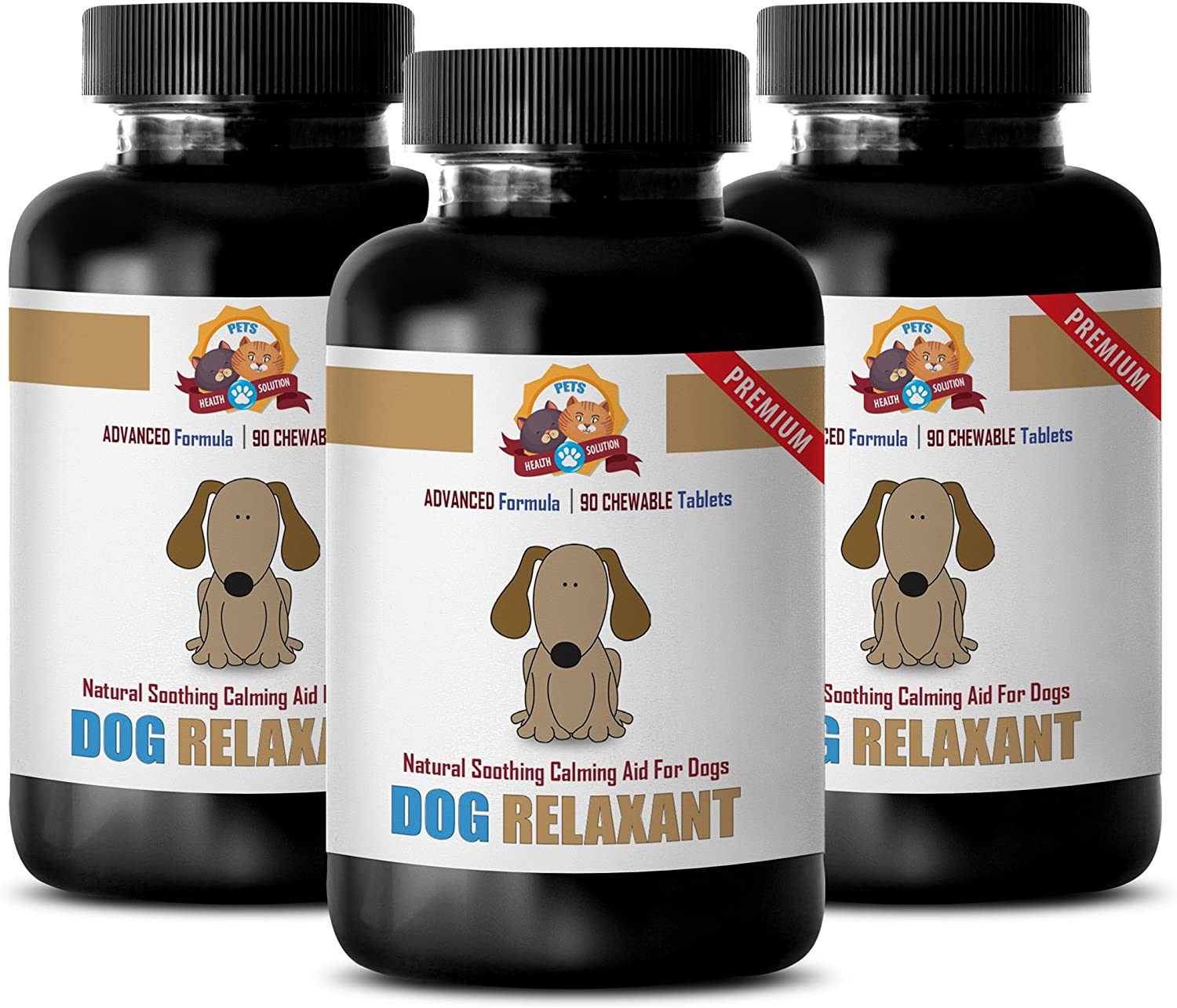 PETS HEALTH SOLUTION Dog Today's only Calming Stress sold out D Reliever Chews -
