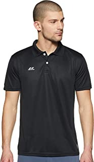 Nivia Polo Tee, Men's, Black, XS