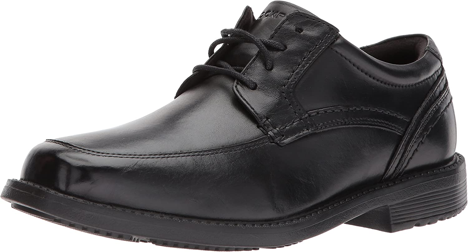 Rockport Hommes's Style Leader 2 Apron Toe Oxford, noir, 15 W US
