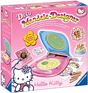 Ravensburger Deco Mandala Designer 18647 Hello Kitty - Set para Crear diseños Decorativos [Importado de Alemania]
