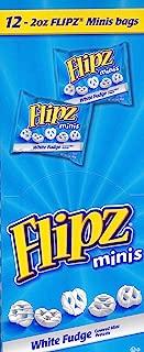 Flipz, White Fudge Minis, 2.0 oz. Bags (12 Count)