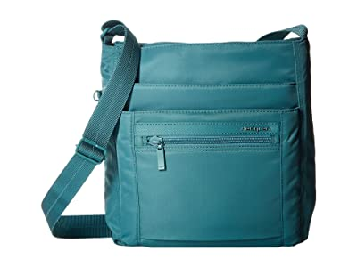 Hedgren Orva RFID Shoulder Bag (Brittany Blue) Shoulder Handbags