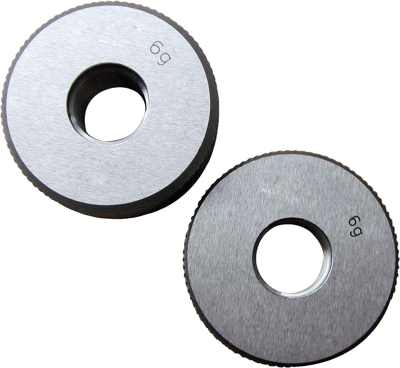 Miami Mall 10mm x 1.25 Metric Thread Gage M10 5 ☆ popular 1.25mm Ring Pitch