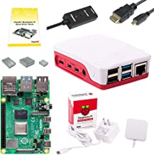 CanaKit Raspberry Pi 4 4GB Basic Starter Kit with Official Case (4GB RAM)