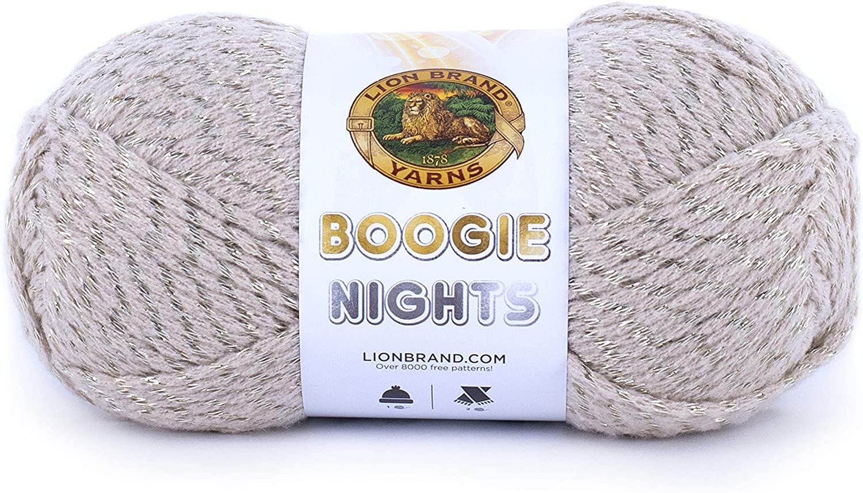 Lion Brand Boogie Nights 101 Royal Flush Yarn