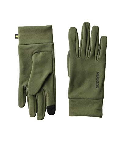 Burton Kids Screen Grab Liner Glove (Youth) (Forest Night) Extreme Cold Weather Gloves