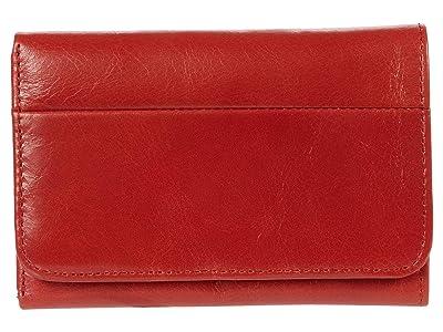 Hobo Jill Trifold Wallet (Brick) Clutch Handbags
