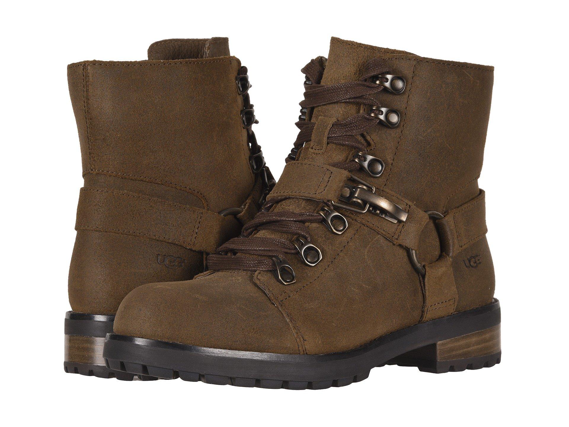 Ugg Lace up Boot Chipmunk Fritzi q1HAwxv01