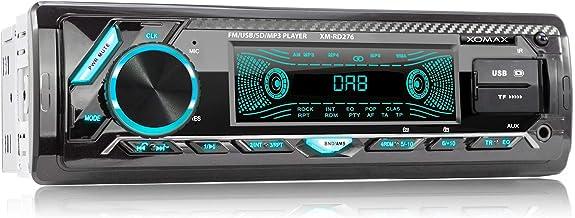 XOMAX XM-RD276 Autoradio mit DAB+ Tuner und Antenne I FM RDS I Bluetooth..