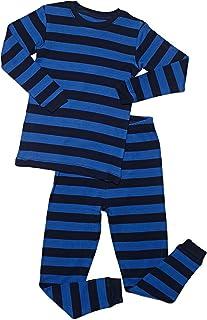 Leveret Striped Kids   Toddler Boys Pajamas 2 Piece Pjs Set 100% Cotton  Sleepwear ( 014b175c2