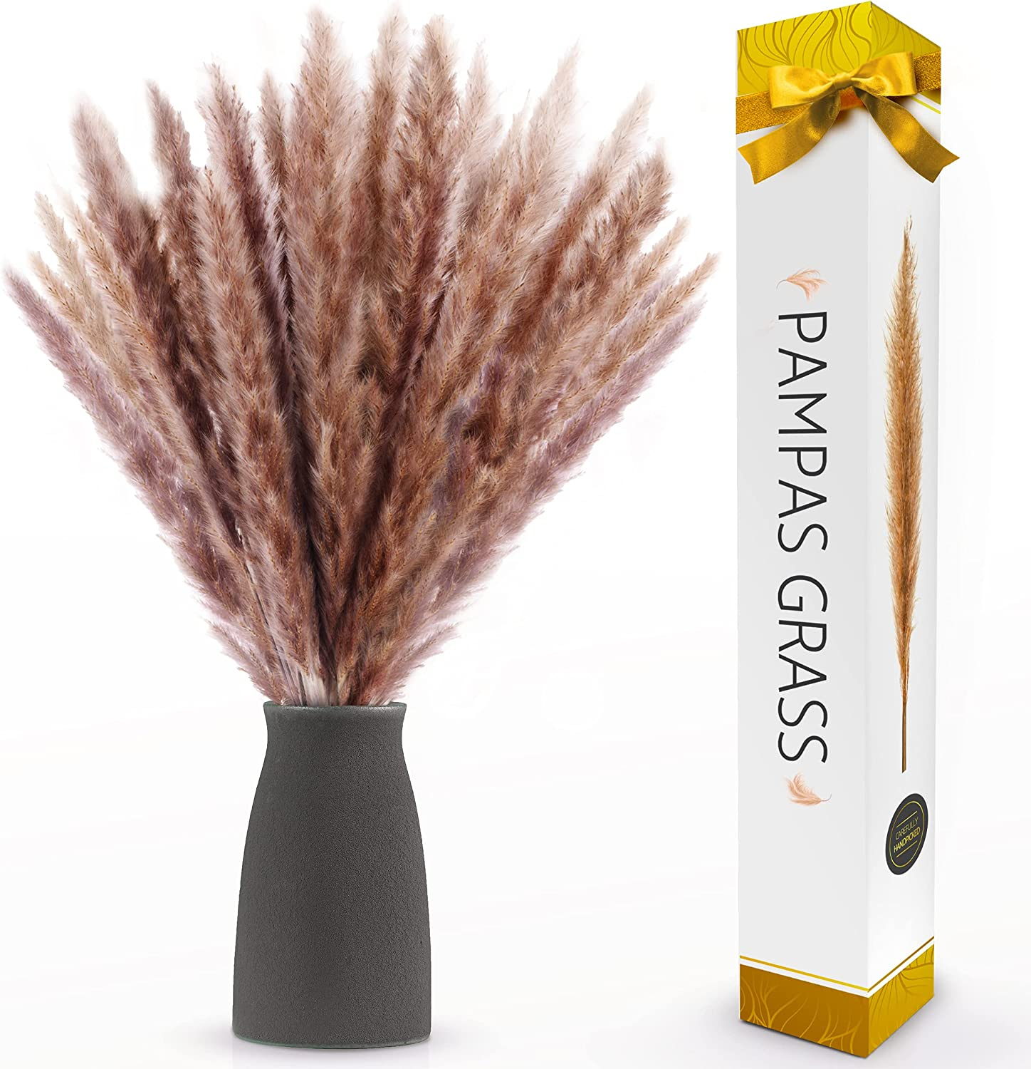 Dried Pampas Grass Now free shipping   200.20 Inches Stems Pompous ...