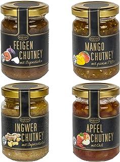 Chutneys Feige, Mango, Ingwer, Apfel - Natur pur