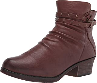 Propet Women's Roxie Ankle Boot, Brown, 7 X-Wide