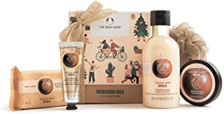 The Body Shop Nourishing Small Gift Set, Made With Community Trade Shea Butter, 11.15 Fl Oz