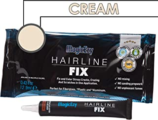 MagicEzy Hairline Fix (Cream) - Boat Gelcoat Crack Repair - Fills And Colors Fast