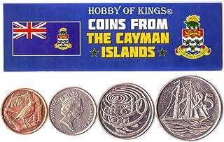 هواية الملوك عملات مختلفة - العملات الأجنبية القديمة للتحصيل في جزر كايمان لجمع الكتب - مجموعات فريدة من المال التذكارية ا...