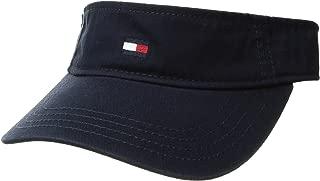 Tommy Hilfiger Men's Dad Hat Flag Solid Cotton Visor