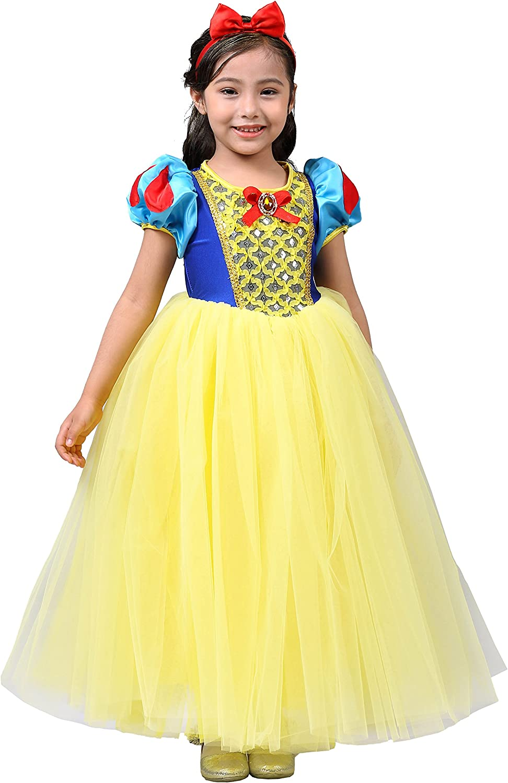 Dedication Many popular brands Dressy Daisy Girls Princess Dress Hall Costumes with Headband Up