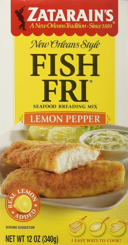 Super sale period limited Zatarain's Fish Fry Lemon Pepper Pack Limited time cheap sale of12 12-ounces