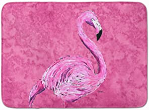"Caroline's Treasures Flamingo on Pink Floor Mat, 8875RUG, Multicolor, 19"" x 27"""
