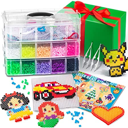 New Hot 5mm 250 pcs PP HAMA//PERLER BEADS for Child Gift GREAT Kids Great Fun #28