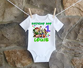 Toy Story and Friends Birthday Shirt Boys