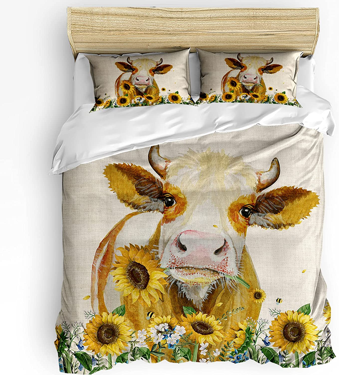 3 Piece Bedding Outstanding Cover Set Style Country Comforter American Duvet OFFicial shop
