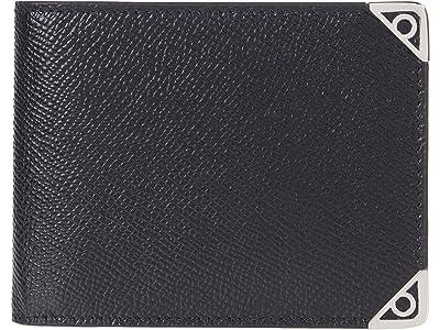 Salvatore Ferragamo Slim Wallet (Nero/Nero) Bill-fold Wallet