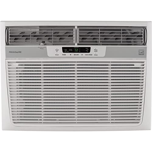 Frigidaire 18,000 BTU 230V Window-Mounted Median Temperature Sensing Remote Control Air Conditioner White