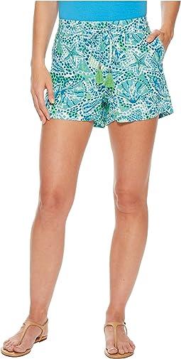 Hannah Linen Shorts