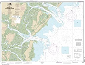 Paradise Cay Publications NOAA Chart 11511: Ossabaw and St. Catherines Sounds 33.5 x 43.8 (TRADITIONAL PAPER)