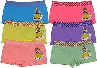ToBeInStyle Girls' Pack of 6 Training Bras Boyshort Underwear