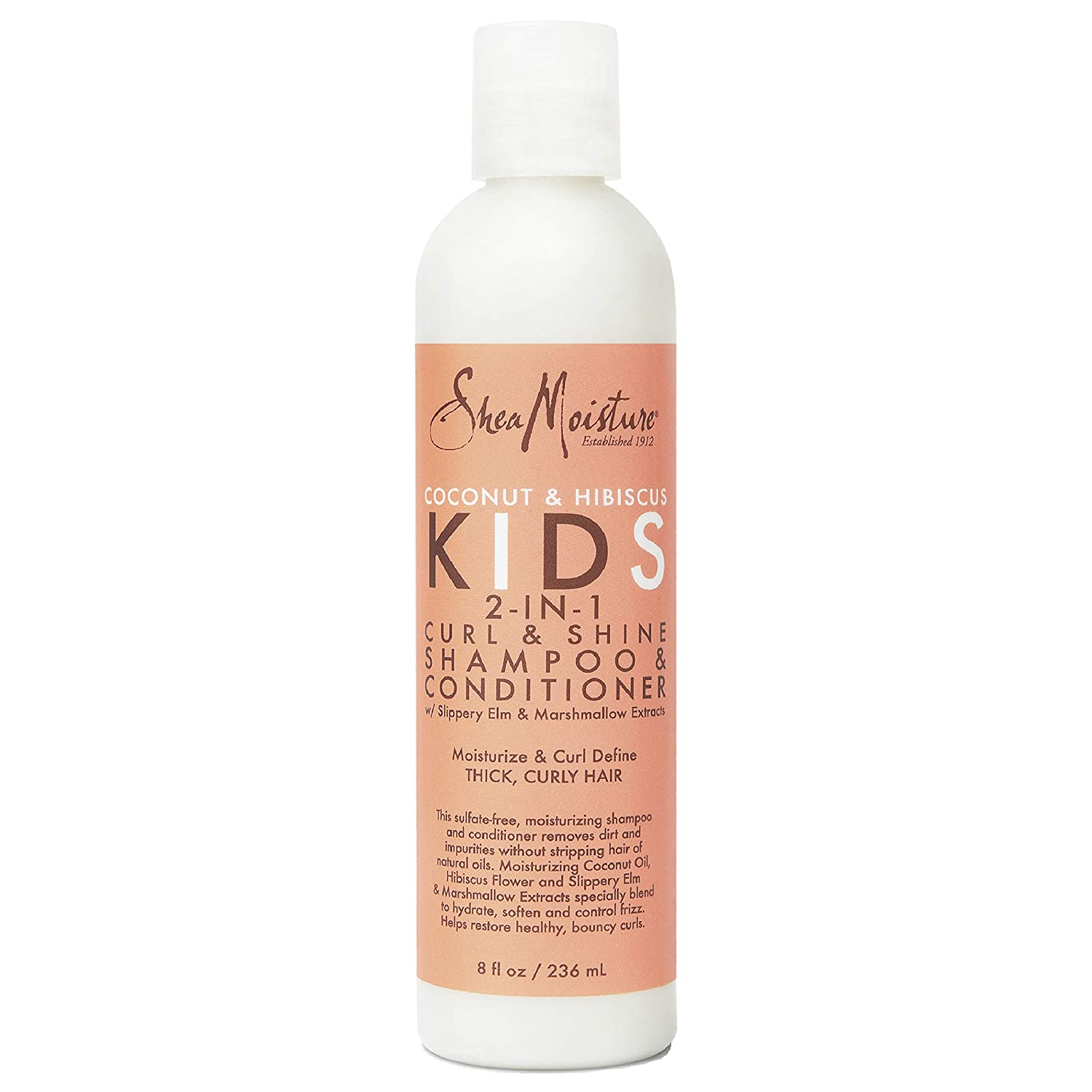 Sheamoisture 2-in-1 Quantity limited Shampoo and Baltimore Mall Kids Conditioner Coconut for