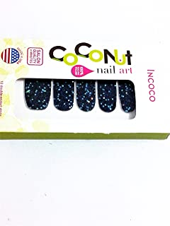 Coconut Nail Art After Party Glitter Nail Polish Strips 03407